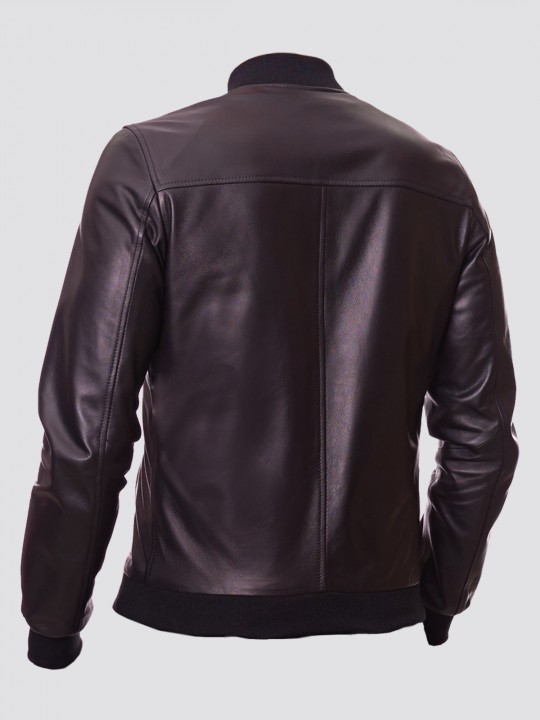 Quilted Bomber Jacket - Samish Leather