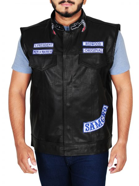 Buy Sons of Anarchy Charlie Hunnam leather Vest
