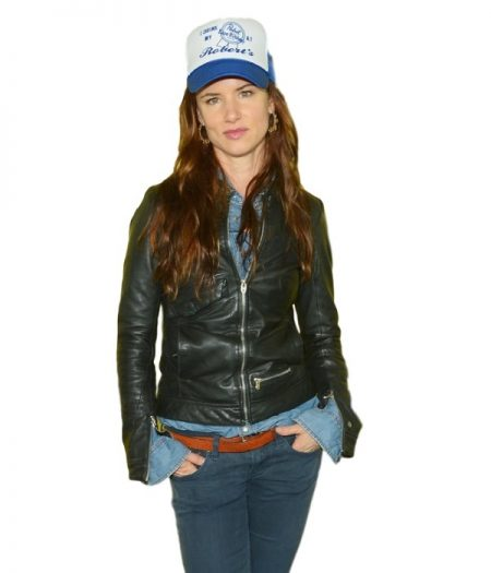 Hellion Premiere Juliette Lewis Leather Jacket
