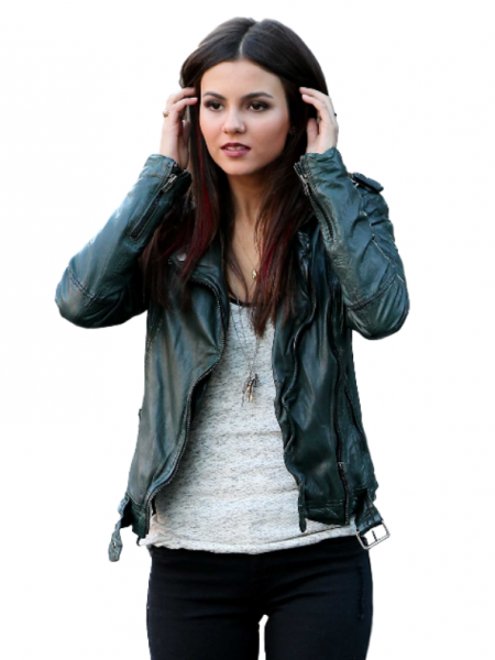 Eye Candy Victoria Justice Green Jacket
