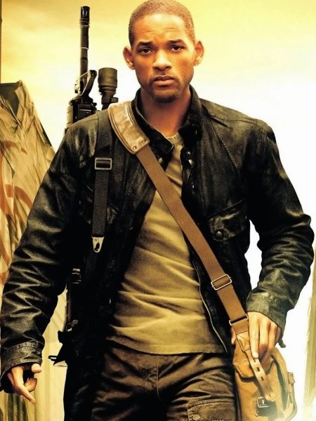 I Am Legend Will Smith Coat Style leather Jacket