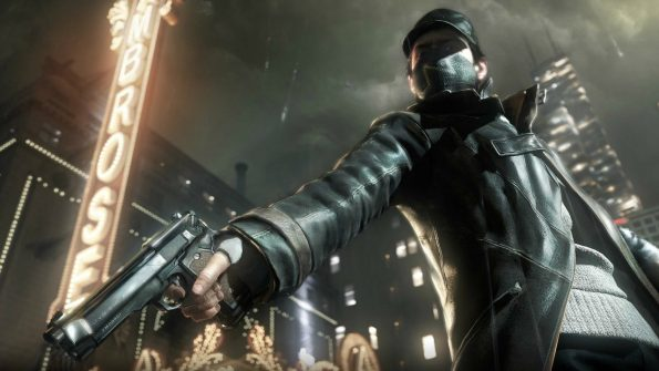Watch Dogs Aiden Pearce black coat