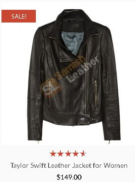 Taylor Swift Leather Jacket for Women