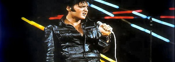The 1969 Elvis Presley Comeback Concert leather jacket