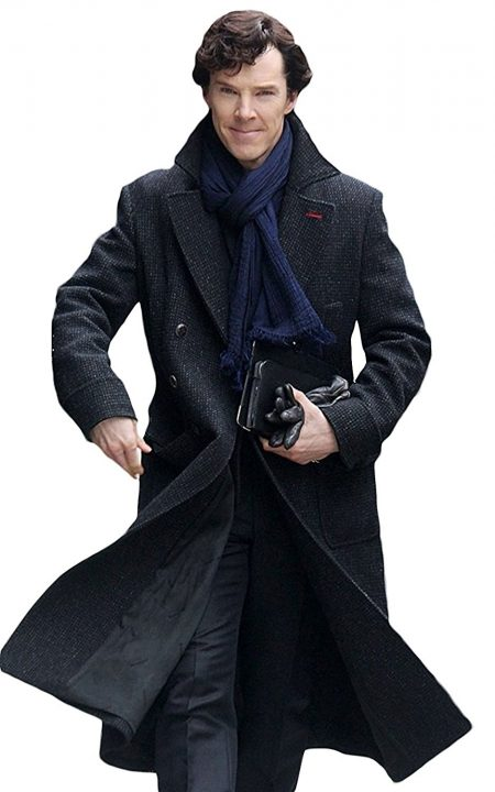 Benedict Cumberbatch Sherlock Wool Blend Coat