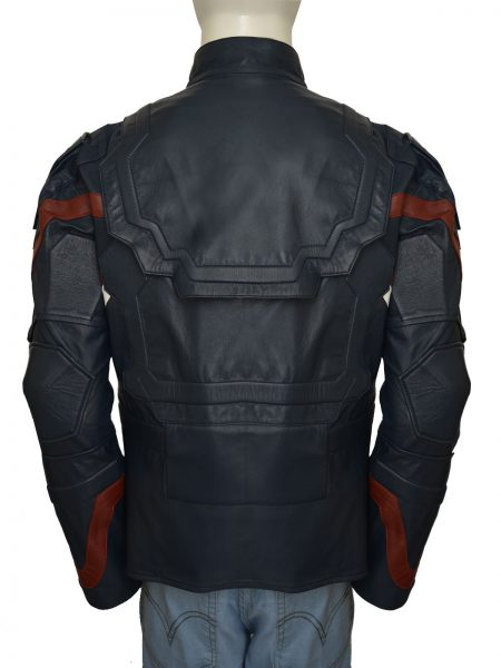 Captain America Costume Leather Jacket