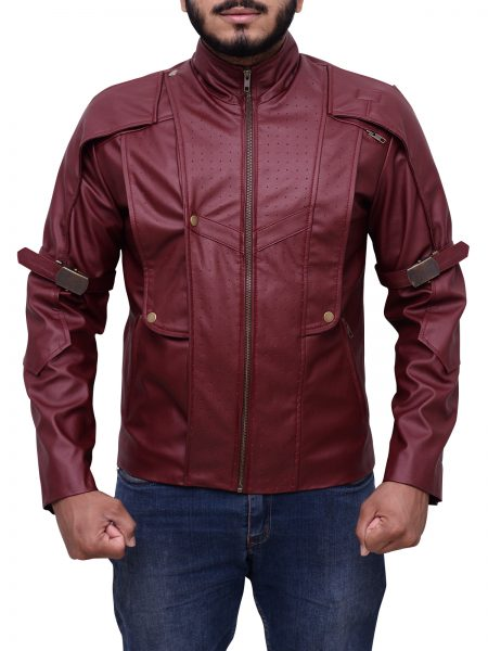 Guardians of the Galaxy Chris Pratt Star Lord Jacket