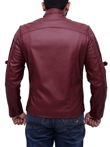 Leather Jacket Chris Pratt Star Lord