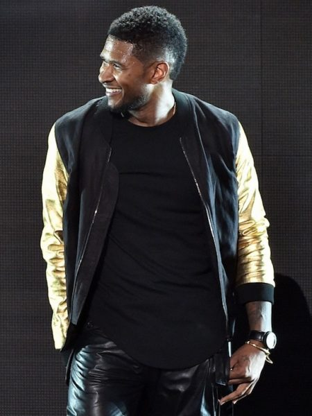 Buy Usher iHeartRadio Show Satin Jacket