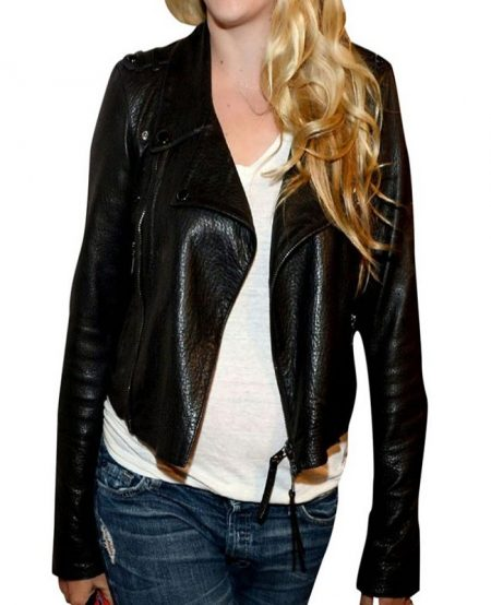 Busy Philipps Mistaken from Strangers Leather Jacket