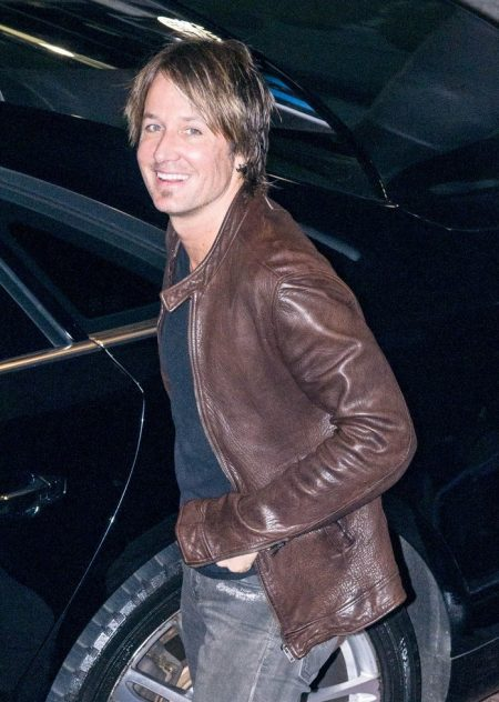Arena Concert Keith Urban leather Jacket