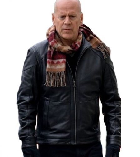 A Good Day To Die Hard Bruce Willis leather Jacket