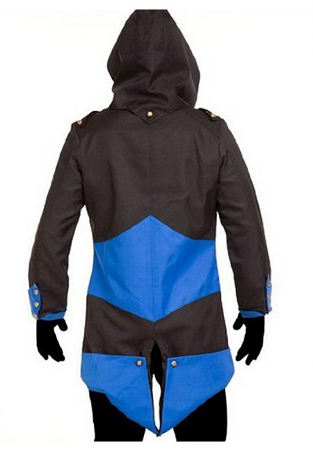 Black and Blue Assassin's Creed Jacket