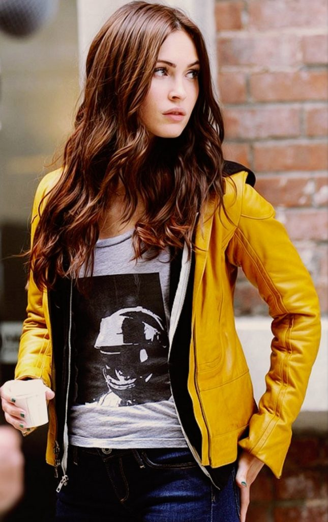 Get Megan Fox Yellow Jacket