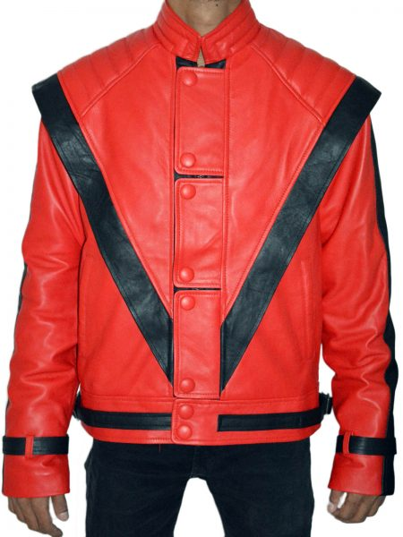 king of pop music michael jackson stylish design leather jacket for sale