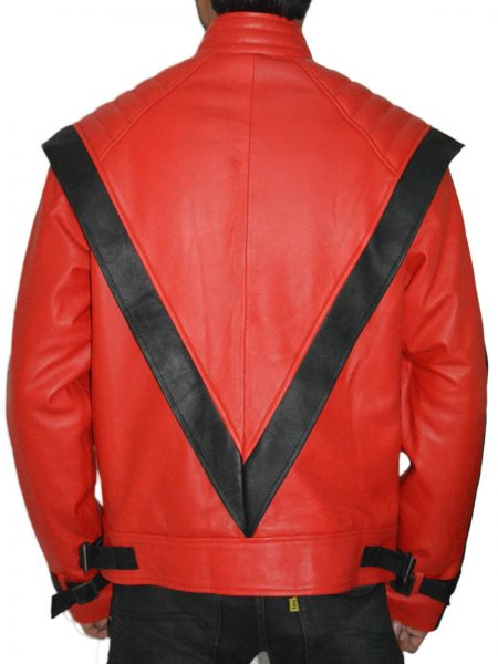 Get king of pop music Michael Jackson stylish design leather jacket
