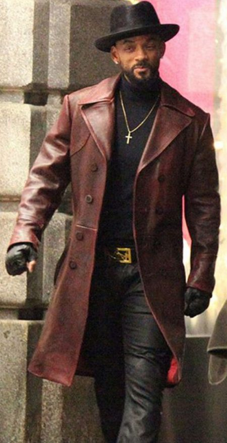 Suicide Squad Will Smith Coat