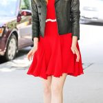 Stylish Emma Stone Black leather Leather Jacket