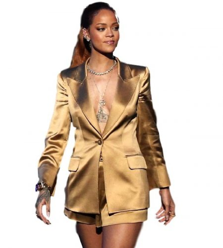Rihanna Trench Coat