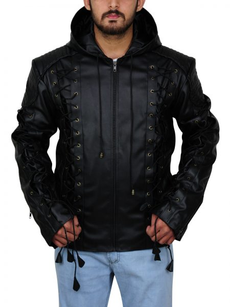 Arrow Colton Haynes Hoodie Jacket