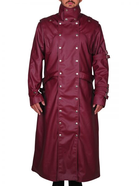 Vash The Stampede Series Trigun Trench leather Coat