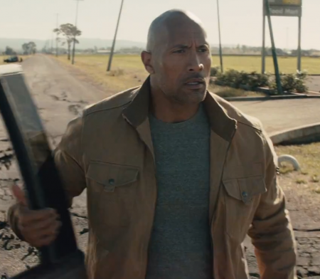 San Andreas Dwayne Johnson Jacket