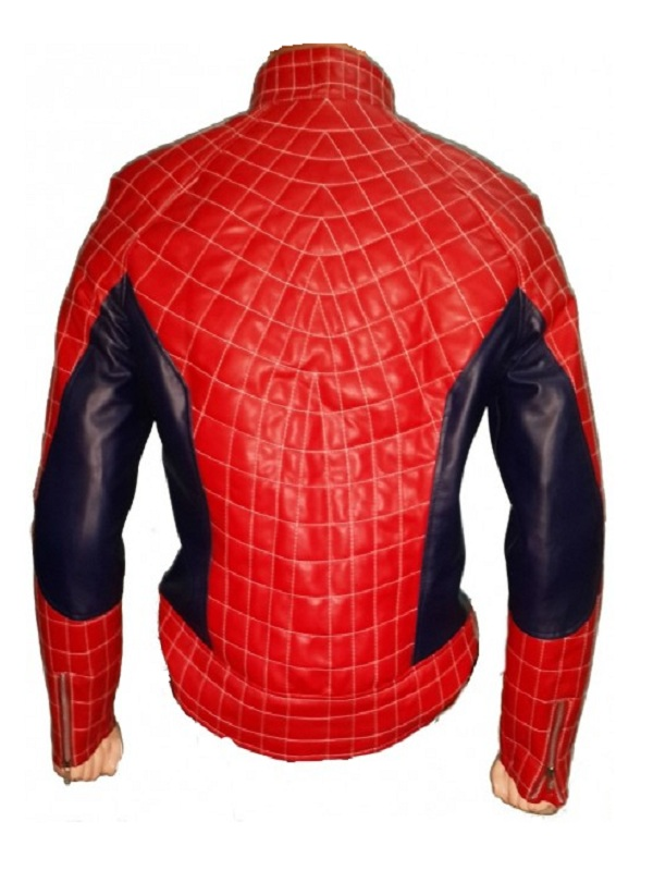 The Amazing Spiderman 2 Red Jacket