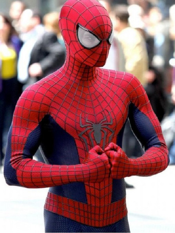 The Amazing Spiderman 2 Red Jacket2