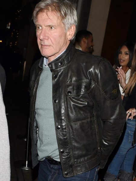 Harrison Ford Wanted Han Solo to Die in 'Return of the Jedi' leather Jacket