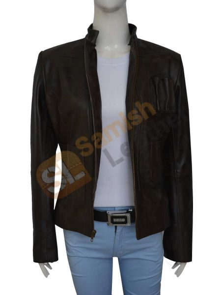 Harrison Ford Star Wars Force Awakens Women's Jacket