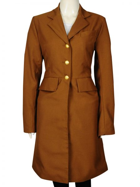 Hell on Wheels Dominique McElligott Lily Bell Coat