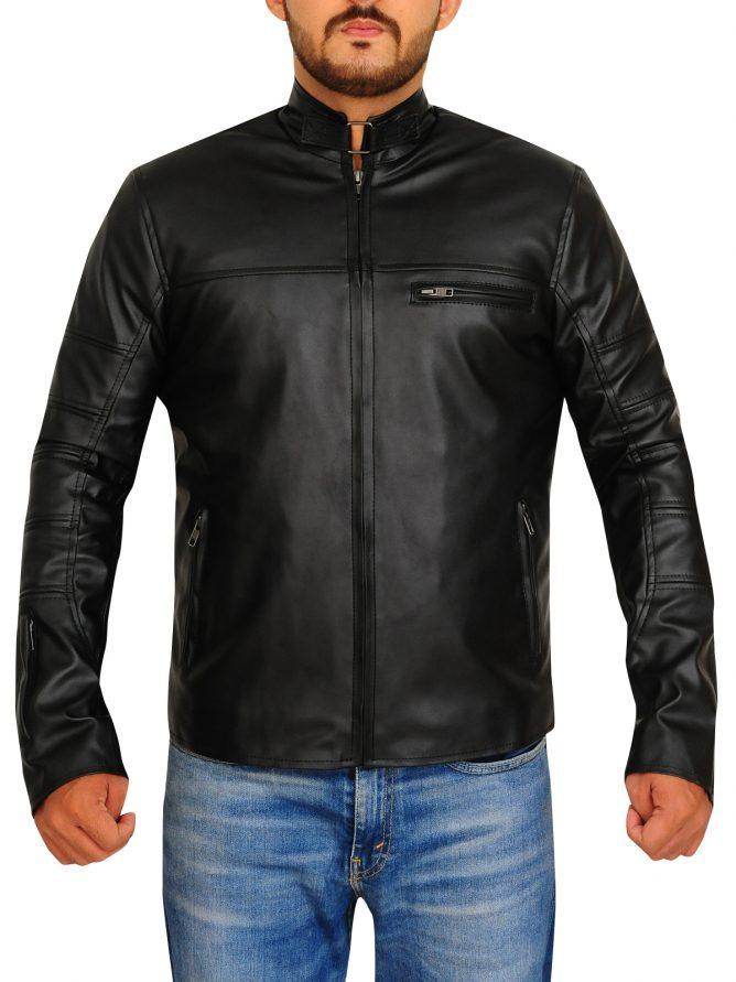 Jason Clarke Terminator Genisys Leather Jacket