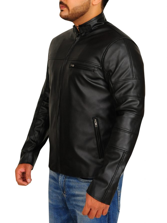 Jason Clarke Terminator Genisys Leather Jacket (2)