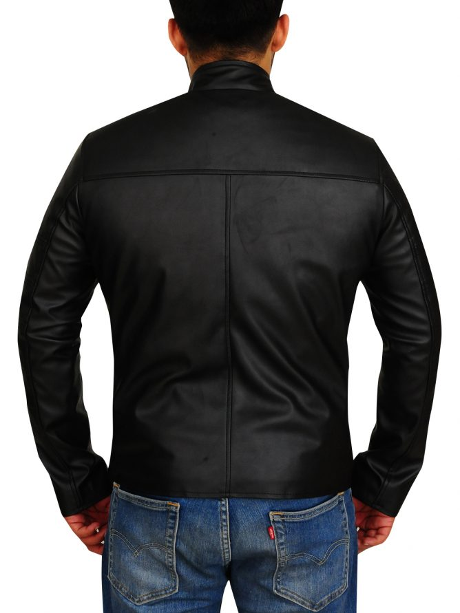 Jason Clarke Terminator Genisys Leather Jacket (3)