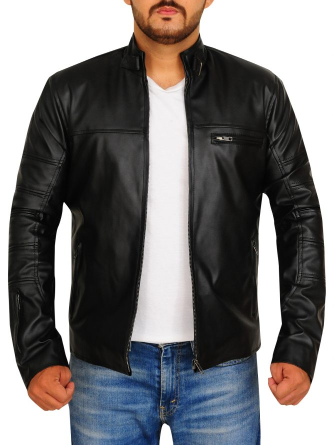 Jason Clarke Terminator Genisys Leather Jacket (4)