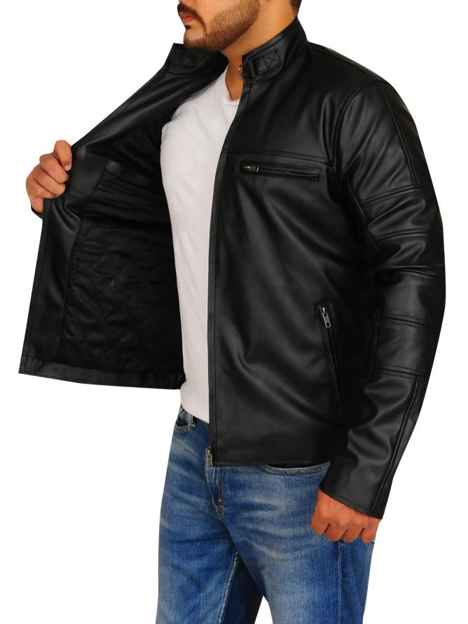 Jason Clarke Terminator Genisys Leather Jacket (5)