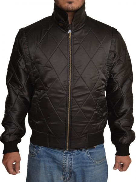 Ryan Gosling Scorpion Black Jacket