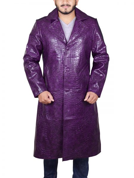 Suicide Squad Joker Crocodile Coat