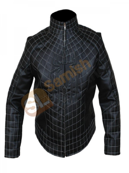 Get The Amazing Spider Man 2 Men's Faux Leather Black Jacket
