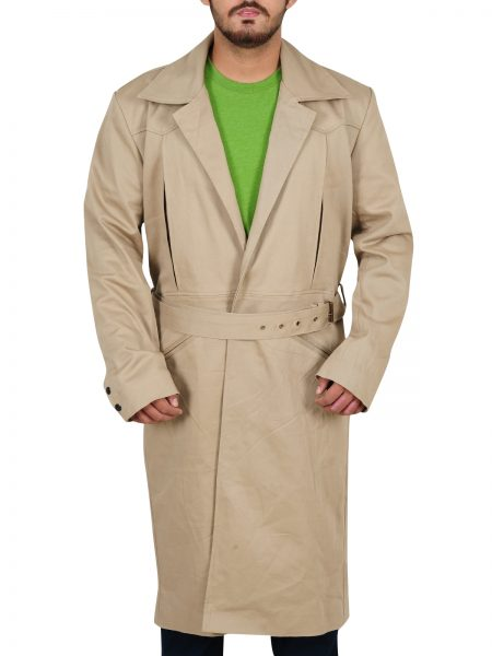 Arthur Darvill Rip Hunter Legends Of Tomorrow Cotton Coat