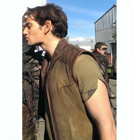 Bandon Shannara Marcus Vanco leather Vest