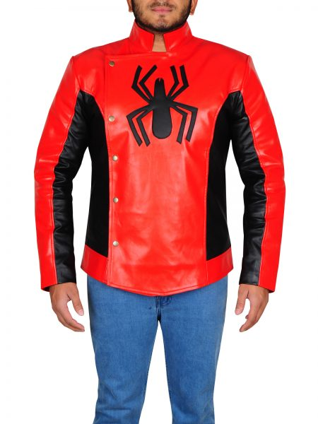 Peter Parker Spiderman Jacket