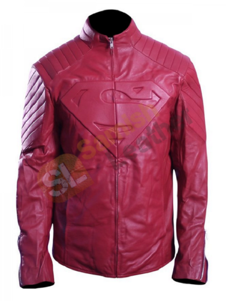Tom Welling Superman Smallville Pink Jacket