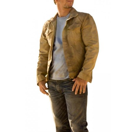 Transformers Age of Extinction Cade Yeager Brown Jacket