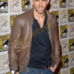 Get Actor Ryan Reynolds Jacket Samishleather