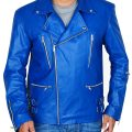 Jared Leto 30 Seconds To Mars Blue Jacket