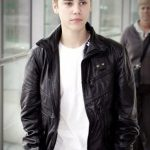 Justin Bieber Heathrow Airport Classy Black Jacket (1)