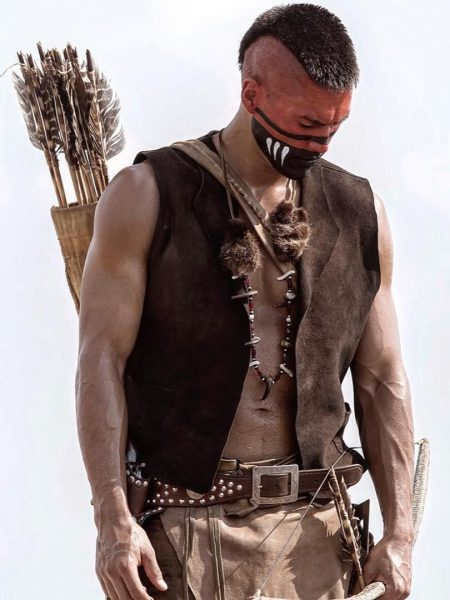 Martin Sensmeier Magnificent Seven leather Vest