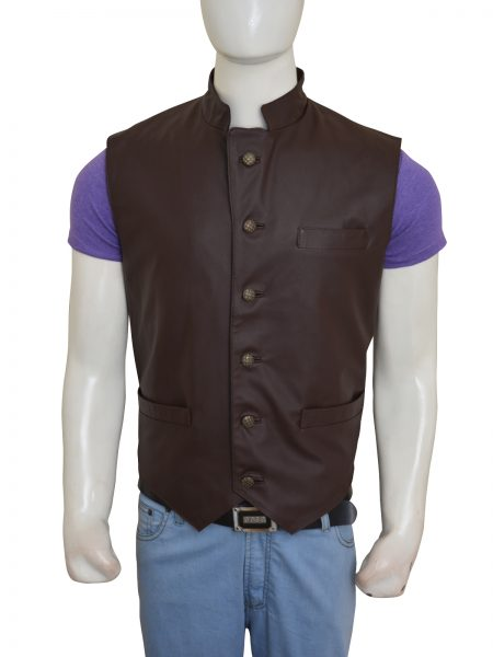 The Magnificent Seven Chris Pratt Brown Vest