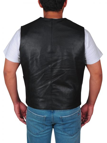 Dwayne Johnson Hobbs leather Vest